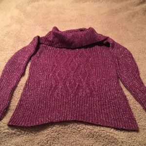 Style & Co Long Sleeve Pullover Sweater Size S